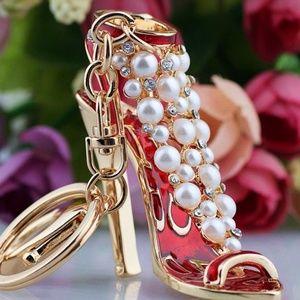 NEW Pearl Heels Hanbag Charm / Keychain 45